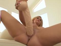 Crazy pornstar Emma Heart in fabulous dildos/toys, masturbation porn scene