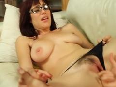 Hottest pornstars Kara Price and Sasha Sweet in exotic brunette, blowjob porn scene