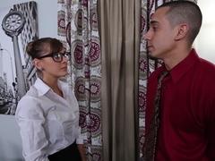 Dakota Vixin in Testing Out The New Secretary