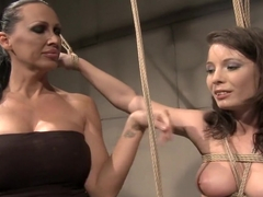 Voluptuous young beauty Zyna gets dominated by her wonderful mistress