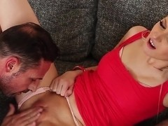Viktoria Diamond trying to please her handsome neighbor