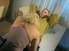 beautiful Swedish girl fucked on the table