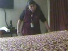 Hotel maid discovers fake pussy fleshlight hidden cam part 2