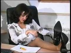 This Hot Lady Boss Gets Fucked At Work