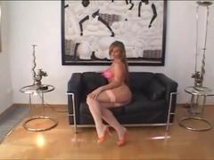 Sexy Rita gets her asshole drilled for an ass creampie