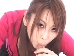 Horny Japanese whore Ryo Takamiya in Incredible POV JAV scene
