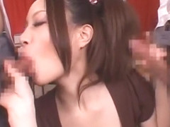 Incredible Japanese chick in Amazing POV, Blowjob/Fera JAV clip