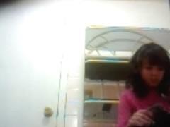 girl in bathroom 4