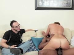 Horny pornstar Isiah Maxwell in Fabulous Redhead, Cuckold sex clip