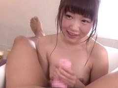 Horny Japanese chick Mayu Yukii in Amazing showers, handjobs JAV scene