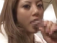 Exotic Japanese girl Nozomi Nishiyama in Horny Office JAV video