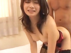 Crazy Japanese slut Akane Ozora in Fabulous Stockings/Pansuto, Small Tits JAV movie