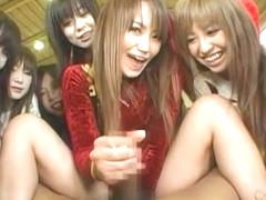 Hottest Japanese slut Ren Hitomi, Ami Shiina, Karin Onuki in Fabulous JAV video