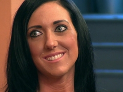 Incredible pornstars in Crazy Brunette, Reality sex movie
