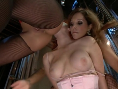 Crazy fisting, fetish sex scene with fabulous pornstars Audrey Hollander, Francesca Le and Ariel X.