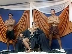 Orgie au palais du pharaon