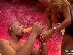 PinkoShemales Video: Horny Claudia