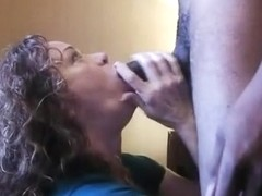 Oral-Sex Slaver takes on 11 inches of pure CHOCOLATE