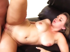 Chrissy Nova is eager to get her pussy drilled in various positions