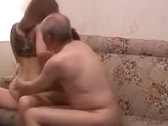 Horny Amateur clip with Brunette, Threesome scenes