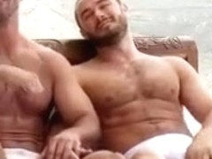 Hot gay bears fuck their gapes