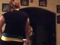 Fabulous twerking cam non-professional clip