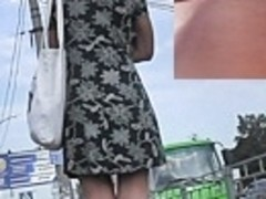 Very kewl street upskirt footage