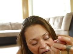 Amazing pornstar Olivia Wilder in Incredible Blowjob, Cumshots xxx clip