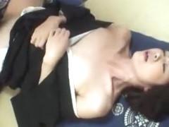 Fabulous Japanese slut Maki Hojo in Amazing Cumshots, Fingering JAV scene