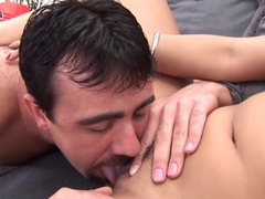 Horny pornstar in Crazy Asian, Brunette sex movie