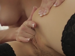 Exotic pornstar in fabulous lesbian, masturbation xxx video