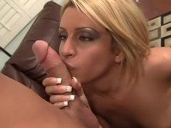 Crazy pornstar Caprice Capone in fabulous cumshots, blowjob sex scene