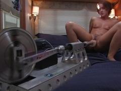 Crazy fetish porn movie with fabulous pornstar Sara Faye from Fuckingmachines