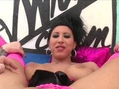 Fabulous pornstars Marley Brinx, Lily Lane in Crazy Brunette, Big Tits porn movie