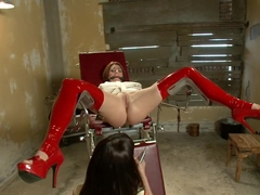 Incredible anal, fisting porn scene with horny pornstars Dana DeArmond and CiCi Rhodes from Everyt.