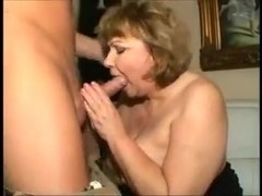 HUNGARIAN big beautiful woman GRANNY FUCKED ON THE SOFA (ANAL)