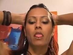 Mature Slut In Trans Threesome