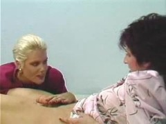 Vintage tranny and tart petting and fucking