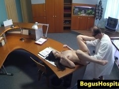 Euro 18yo creampied during doctors visit