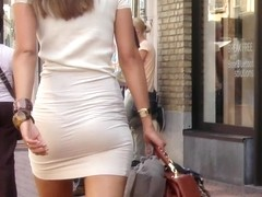 Business Woman Has Thong Issues