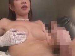 Crazy Japanese model in Amazing Stockings, /Futanari JAV scene