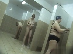 Hidden cameras in public pool showers 964