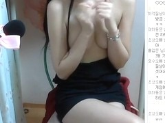 Korean girl super cute and perfect body show Webcam Vol.04