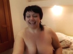 SexBoomxs: fat girl fucks herself with dildo