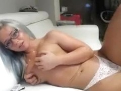 InnocentDoll plays with vibrator
