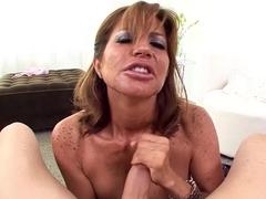 Horny pornstar Tara Holiday in Fabulous Blowjob, Mature adult video