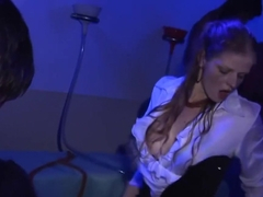 Incredible pornstars Valentine Rush, Gioia Biel and Rachel Evans in hottest group sex, facial adul.