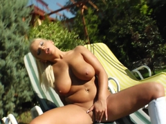 Lucy Love in group bukkake blowbang action from Cum For Cover