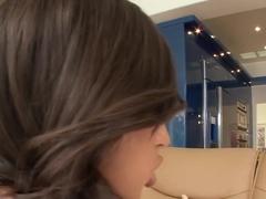 Crazy pornstar Ashli Orion in amazing creampie, brunette xxx movie