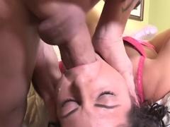 Crazy pornstar Mia Gold in horny big cocks, brunette sex clip